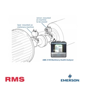 rms products emerson ams 8240 sensALIGN laser fixtures