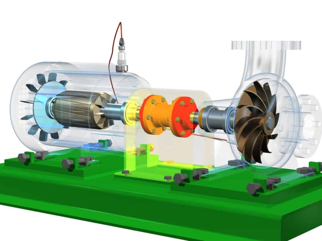 Motor pump sensor