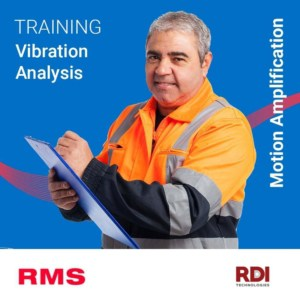 rms rdi training vibration motion amplification course