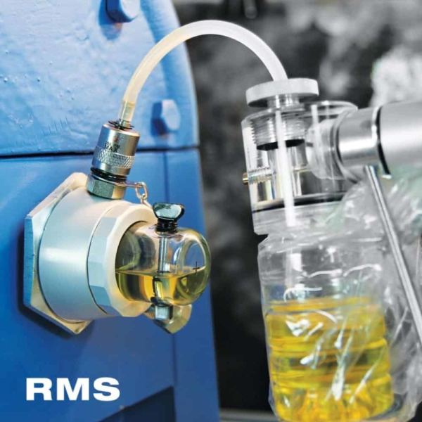 rms services oil analysis syringe