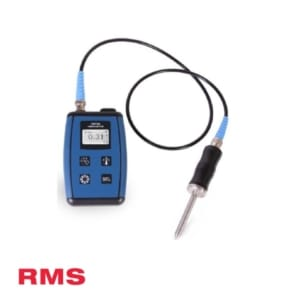 rms product vibration and temperature meter